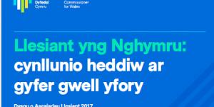 Llesiant yng Nghymru